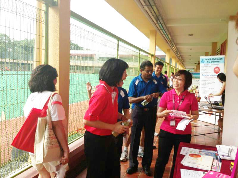 Netturul Cambridge Weight Plan Event & Mobile Clinic at Singapore